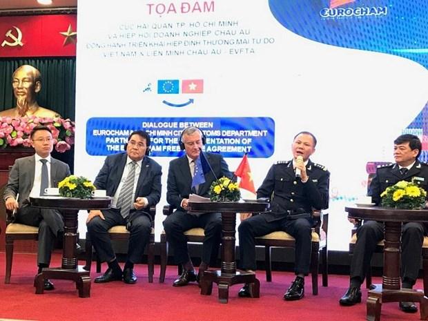 HCM City, EuroCham talk EVFTA implementation hinh anh 1