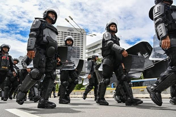Indonesian police foil Jakarta bombing plot hinh anh 1