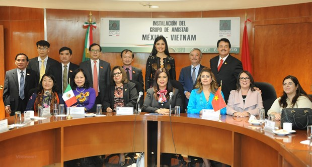 Mexico's lower house sets up friendship parliamentary group with Vietnam hinh anh 1