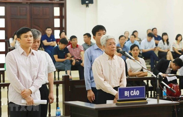Hanoi court starts hearing appeal in Vinashin case hinh anh 1