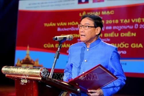Vientiane art show marks Hanoi liberation hinh anh 1