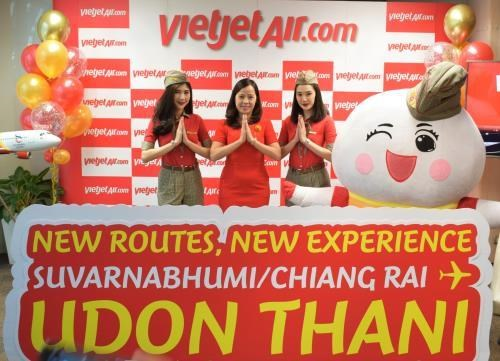 Thai Vietjet Air opens two new routes in Thailand hinh anh 1
