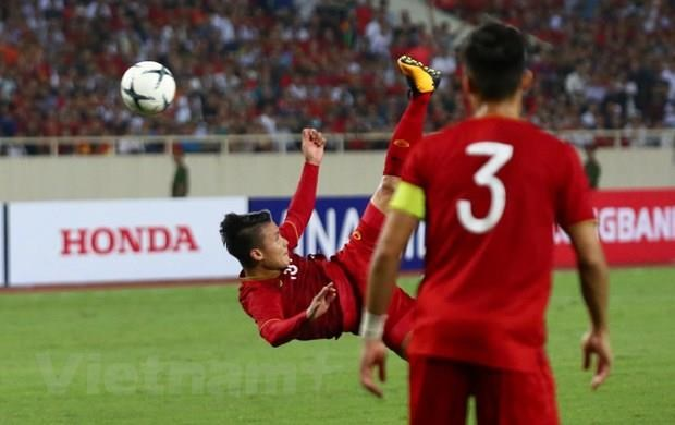 Vietnam score first win at World Cup 2022 qualifiers hinh anh 1