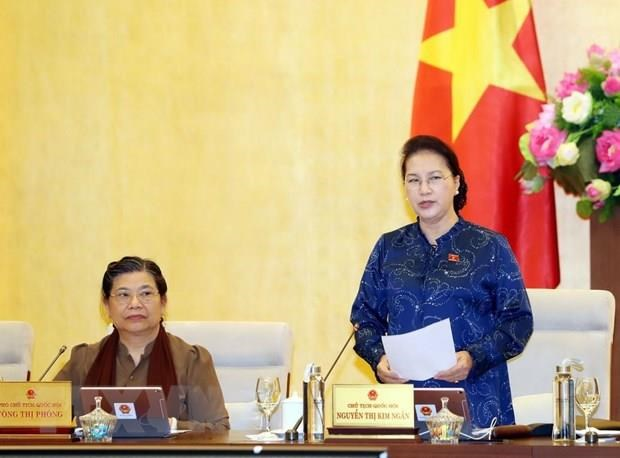 NA Standing Committee to convene 38th session next week hinh anh 1