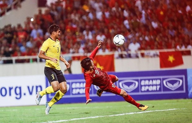 Asian media praise Vietnam's victory in World Cup qualifier hinh anh 1