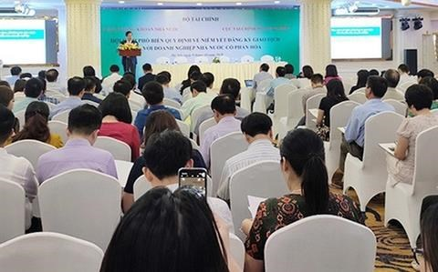 Finance ministry to announce over 750 firms delaying listing hinh anh 1