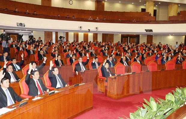 Sixth working day of Party Central Committee's 11th plenum hinh anh 1
