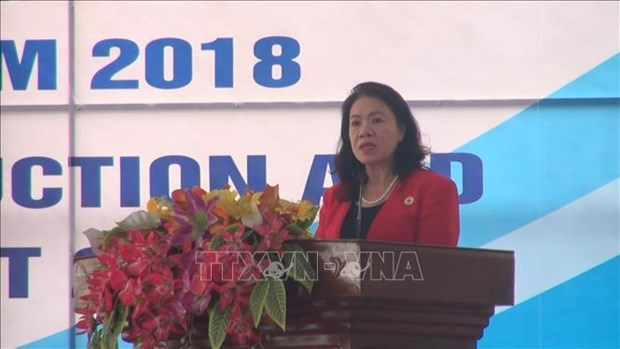 Int'l Day for Disaster Risk Reduction marked in Thanh Hoa hinh anh 1