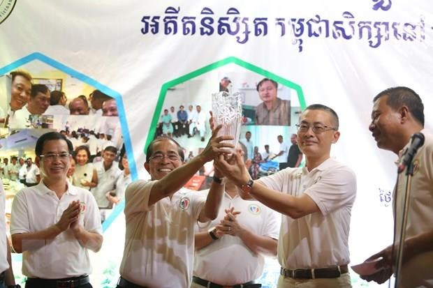 Cambodian alumni in Vietnam gather in Phnom Penh hinh anh 1