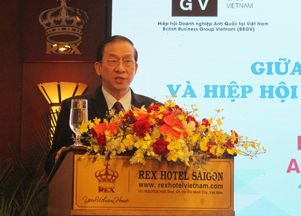HCM City's authorities meet British firms to tackle business difficulties hinh anh 1