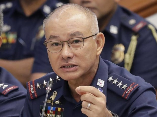 Philippine national police chief steps down amidst drug scandal hinh anh 1