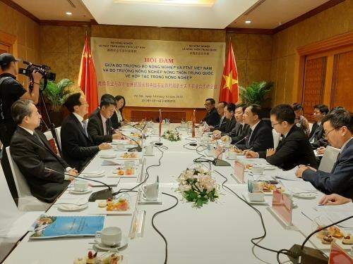 Vietnam, China seek ways to boost agricultural cooperation hinh anh 1