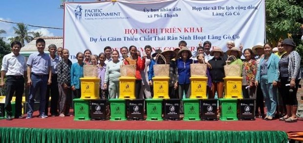 """""""Village without waste"""" project implemented in Quang Ngai hinh anh 1"""