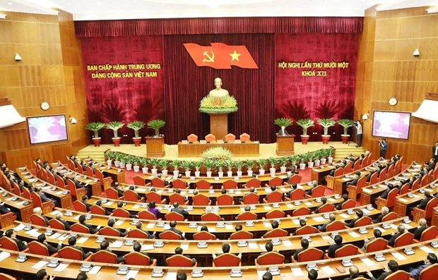 Party documents, personnel work in focus at Party Central Committee's 11th plenum hinh anh 1