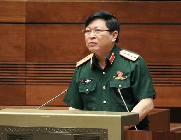 Vietnam's high-ranking military delegation visits EU hinh anh 1