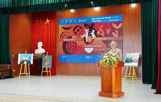 FAO calls for urgent actions to end hunger and malnutrition in VN hinh anh 1