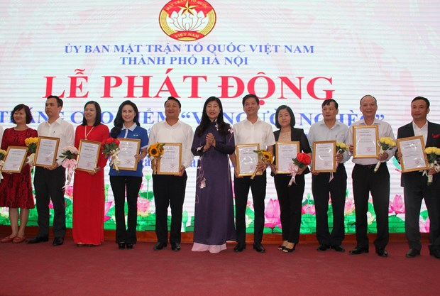 Hanoi launches Month for the Poor 2019 hinh anh 1