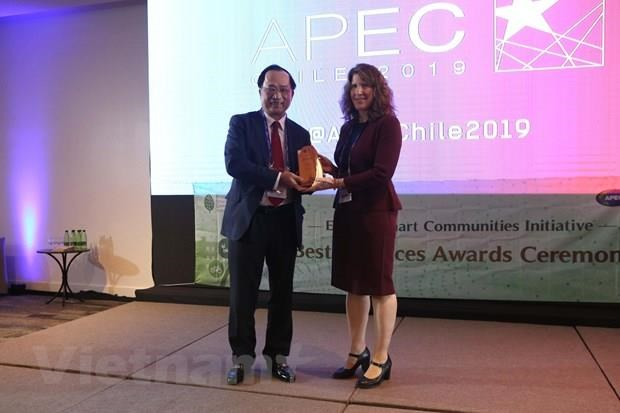 Vietnamese honoured at ESCI Best Practices Awards Programme hinh anh 1