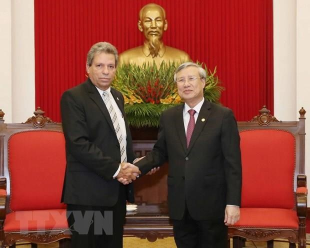 Party official: Vietnam will do its best to foster ties with Cuba hinh anh 1
