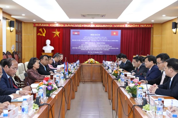 Vietnam, Cambodia share experience in inspection hinh anh 1