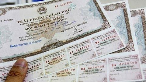 State Treasury raises 4 trillion VND through G-bonds hinh anh 1