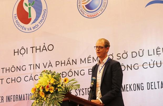 Mekong Delta subsiding at alarming rate: workshop hinh anh 1