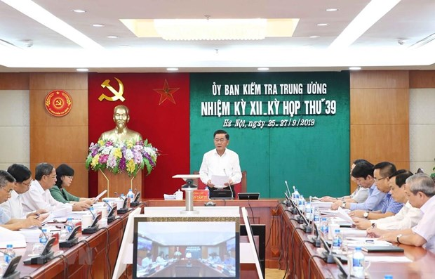 Inspection, supervision work helps uphold Party discipline, rules hinh anh 1