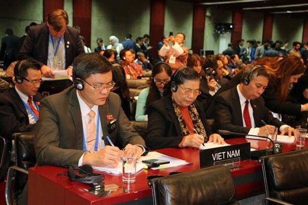 NA Vice Chairwoman meets IPU leader, Cuban counterpart hinh anh 1