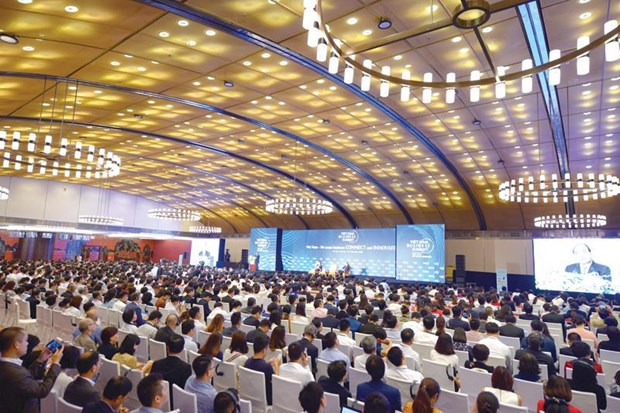 Vietnam Business Summit 2019 opens in Hanoi hinh anh 1