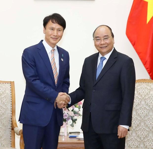 PM receives Governor of Japan's Kagoshima prefecture hinh anh 1