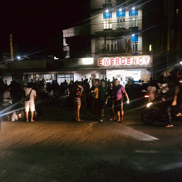 At least three people killed in earthquake in southern Philippines hinh anh 1