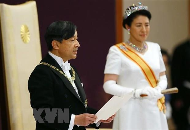 Vietnam congratulates Japan over Emperor Naruhito's enthronement hinh anh 1