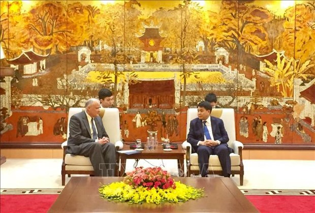 Hanoi leader welcomes delegation of LDS Church hinh anh 1