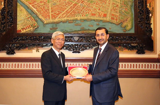 HCM City expects stronger economic ties with UAE hinh anh 1