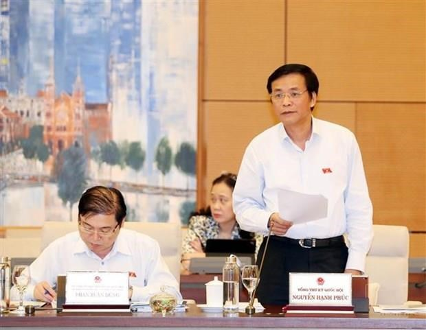Upcoming NA's eighth session to consider many draft laws hinh anh 1