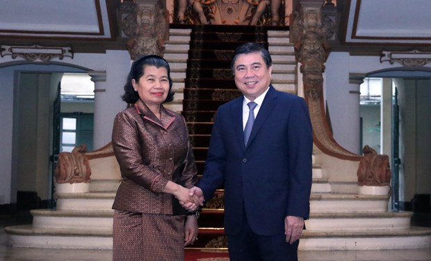 Cambodian Deputy Prime Minister's activities in Vietnam hinh anh 1