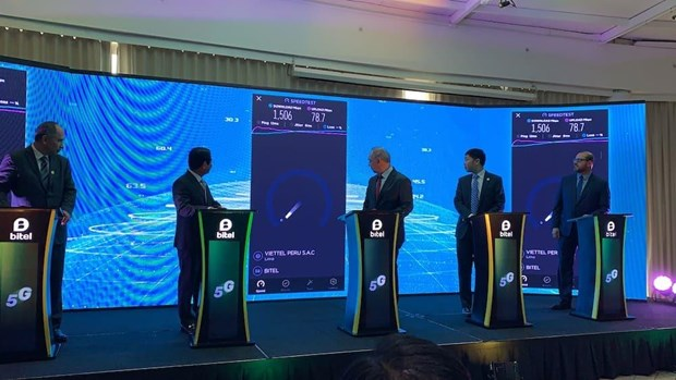 Bitel launches 5G tests in Peru hinh anh 1