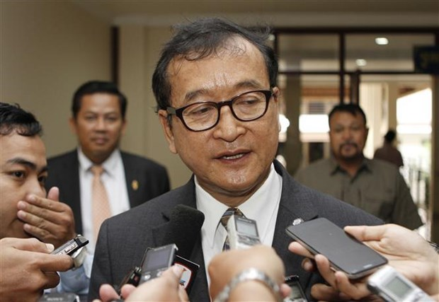 Cambodian court announces jail term for opposition leader hinh anh 1