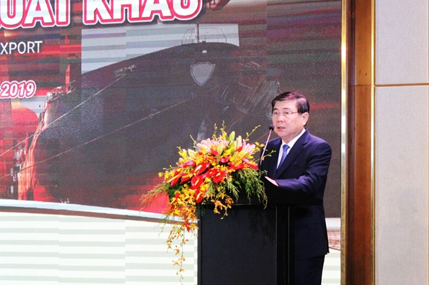 Conference talks boosting HCM City's dwindling exports hinh anh 1