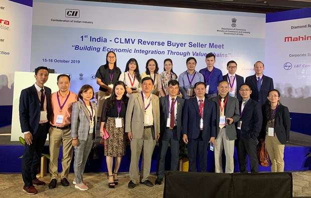 Vietnam attends first India-CLMV Reverse Buyer Seller Meet hinh anh 1