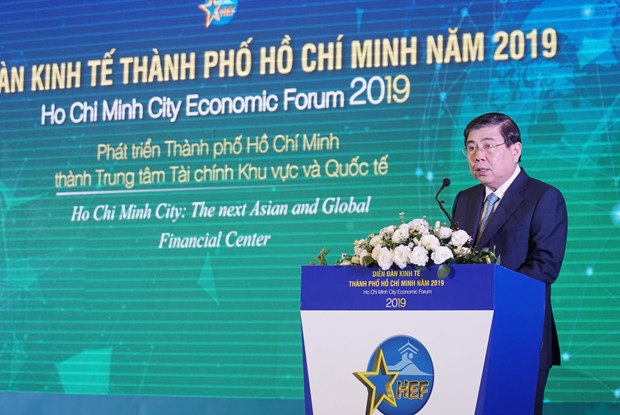 HCM City vows utmost efforts to become global financial hub hinh anh 1