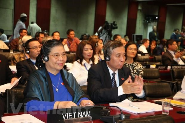 NA Vice Chairwoman attends IPU-141's closing ceremony hinh anh 2