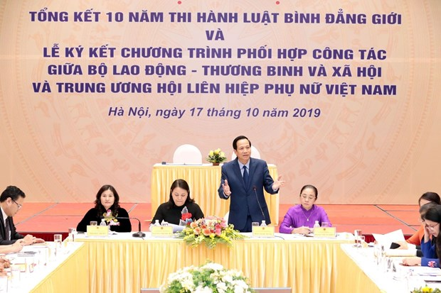 Better awareness of women's political participation needed: minister hinh anh 1