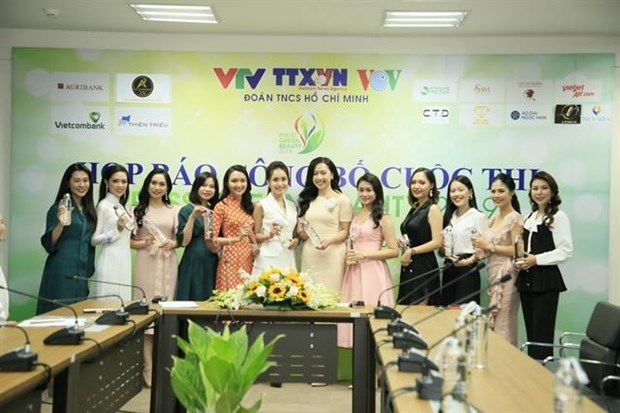 Beauty contest for journalists spreads message of environmental protection hinh anh 1