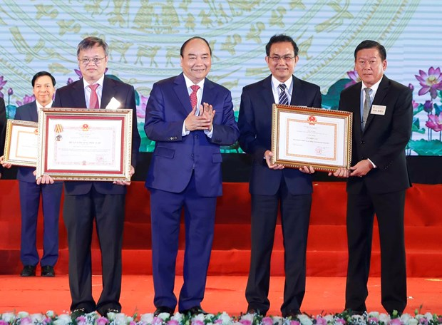 Role models in building new-styled rural areas honoured hinh anh 1