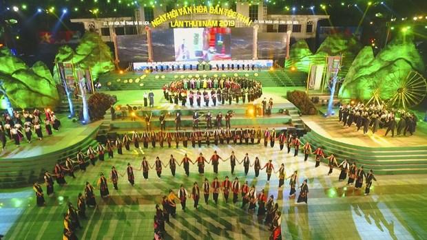 Second Thai Cultural Festival opens in Dien Bien hinh anh 1
