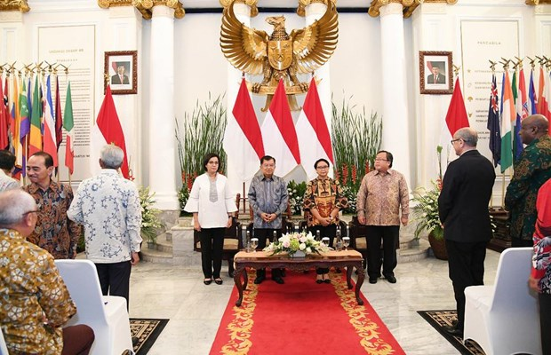 Indonesia launches int'l development aid fund hinh anh 1