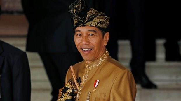 Indonesian President sworn in for second term hinh anh 1