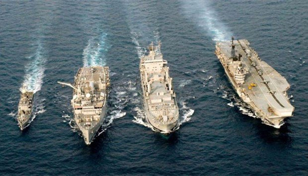 Thailand, India begin joint naval exercise hinh anh 1