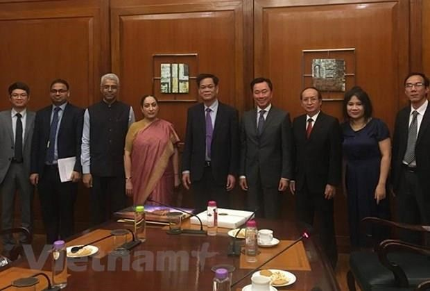 Party delegation pays working visit in India hinh anh 1